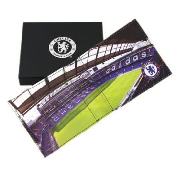 Chelsea FC Leather Wallet Panoramic 801